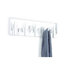 Umbra Coat rack Skyline Multi Hook White