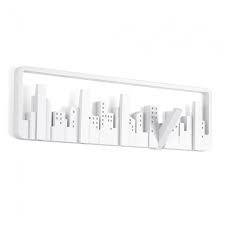 Umbra Garderobe Skyline Multihook Weiß
