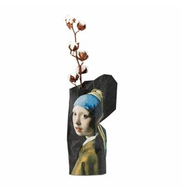Pepe Heykoop Paper Vase Cover Girl with the Pearl Earring Large