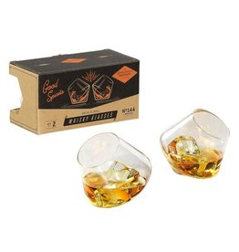 Gentlemen's Hardware Whiskey Glasses Set of 2