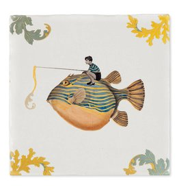 Storytiles  Decorative Tile Good Catch Small