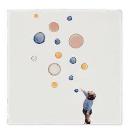 Storytiles  Decorative Tile Catch Bubbles  Small