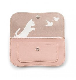 Keecie Wallet Cat Chase Medium Soft Pink