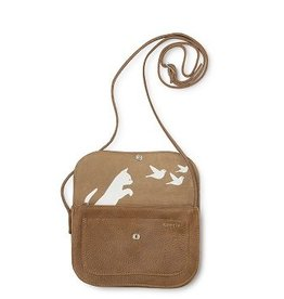 Keecie Bag Cat Chase Bag Cognac Used Look
