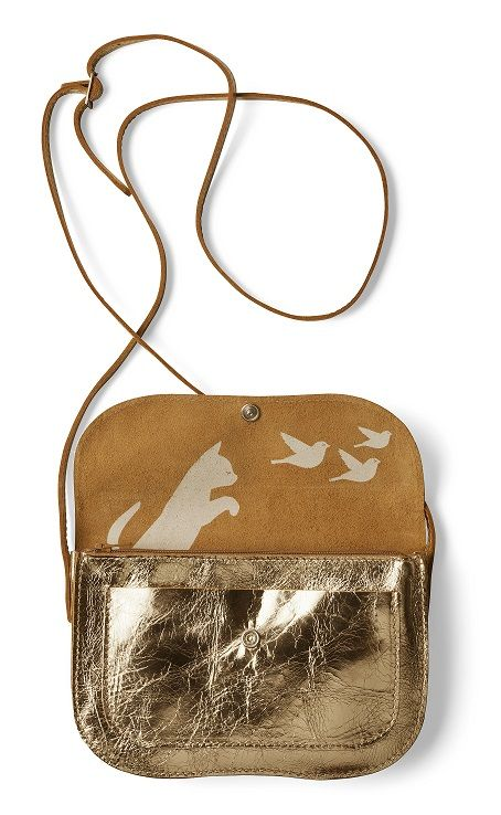 Keecie Tas Cat Chase Bag  Gold