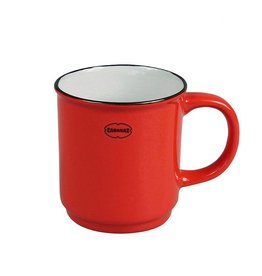 Cabanaz Stapelbare Tasse Rot