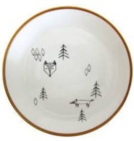 Nuukk Porcelain Stickers Fox in the Forest