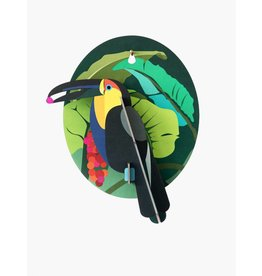 Studio Roof 3D Wall Decoration Hardy Toucan