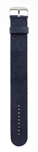 Stamps Armband Jeans Dunkelblau