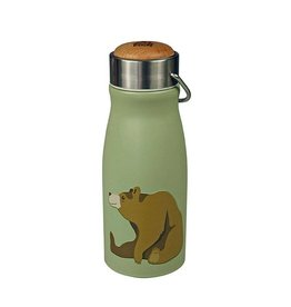 The Zoo Thermos Flask Mini Brown Bear