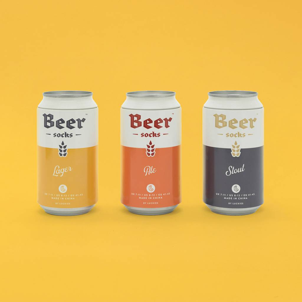 Luckies Sokken Bier Ale