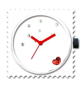 Stamps Uhr Diamond Fever Funky Red Diamond