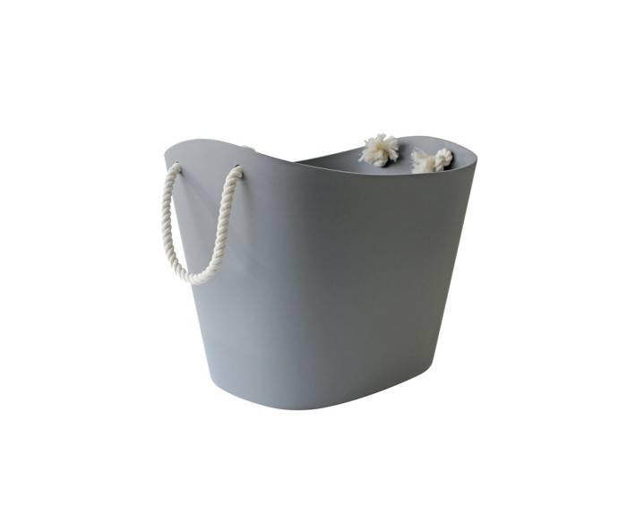 Hachiman Aufbewahrungskorb Balcolore klein grau