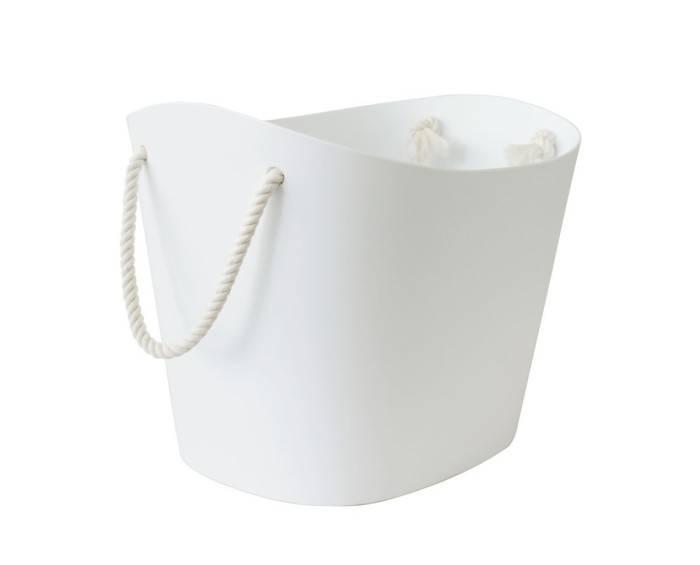 Hachiman Aufbewahrungskorb Balcolore medium weiß