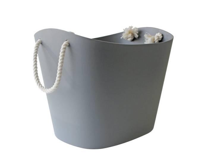 Hachiman Aufbewahrungskorb Balcolore medium grau