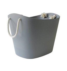 Hachiman Aufbewahrungskorb Balcolore large grau