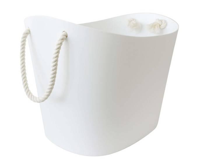 Hachiman Aufbewahrungskorb Balcolore large weiß