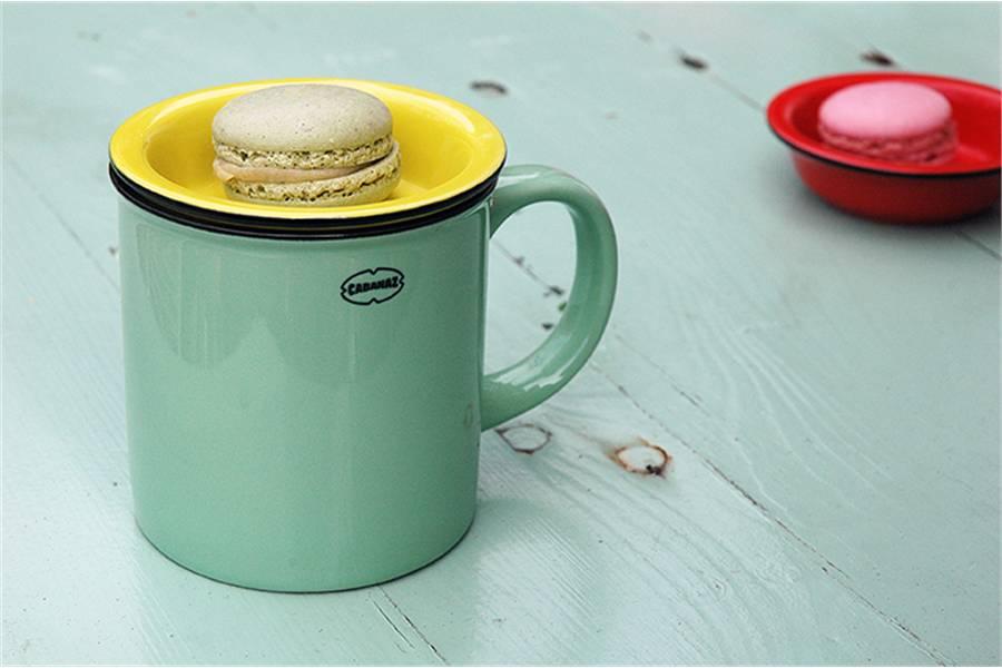 Cabanaz Mini Schaaltje Tea Tip geel
