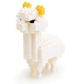 Nano Blocks Bausatz Alpaca