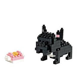 Nano Blocks Bausatz Französische Bulldogge