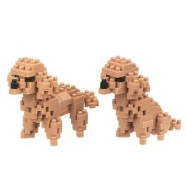 Nano Blocks Bausatz Pudel