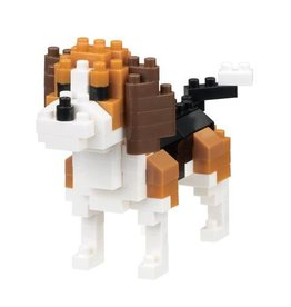 Nano Blocks Bausatz Beagle