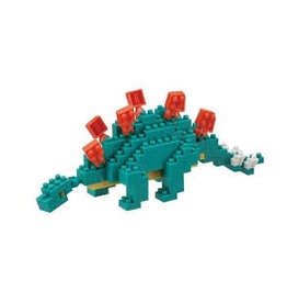 Nano Blocks Building Kit Stegosaurus