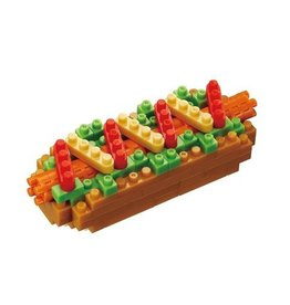 Nano Blocks Bausatz Hot Dog