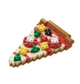 Nano Blocks Bausatz Pizza