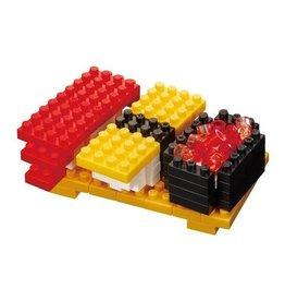 Nano Blocks Building Kit Sushi