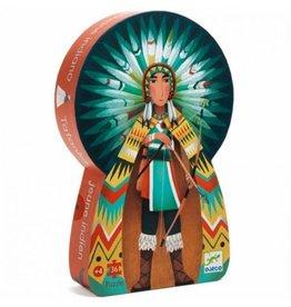 Djeco Puzzle Tatanka Der Junge Indianer
