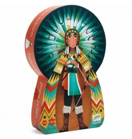 Djeco Puzzle Tatanka The Young Indian