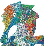 Djeco Puzzle Kunst Sea Horse 350 stück