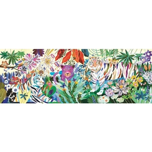 Djeco Puzzle Rainbow Tigers 1000 stück