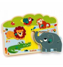 Djeco Puzzle mit Ton Baobab