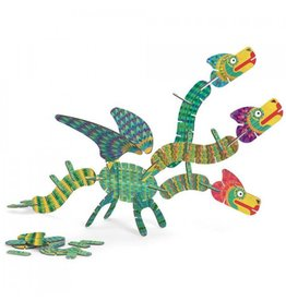 Djeco Baukasten Volubo Dragons