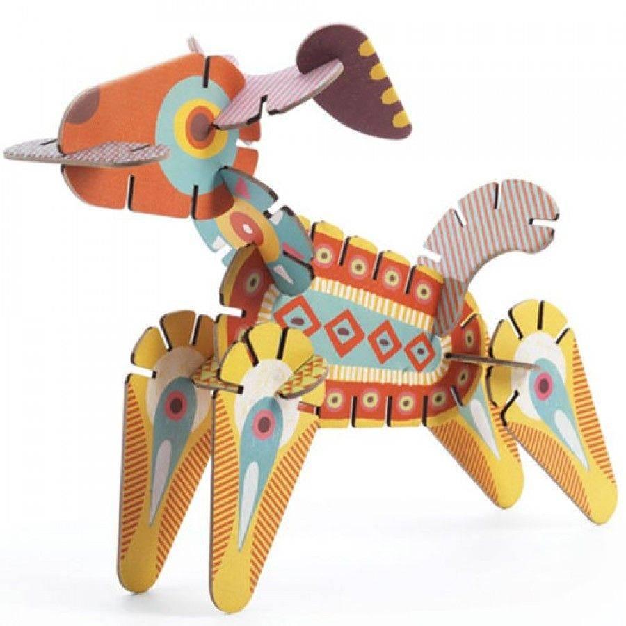 Djeco Construction kit Volubo Animals