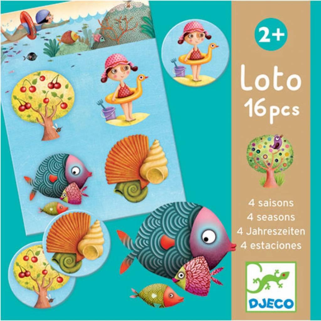 Djeco Lotto-Spiel 4 Jahreszeiten