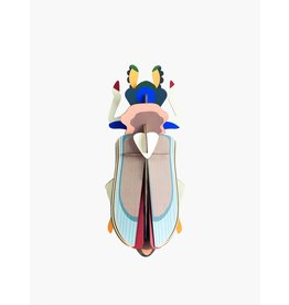 Studio Roof 3D Wanddecoratie Tiger Beetle