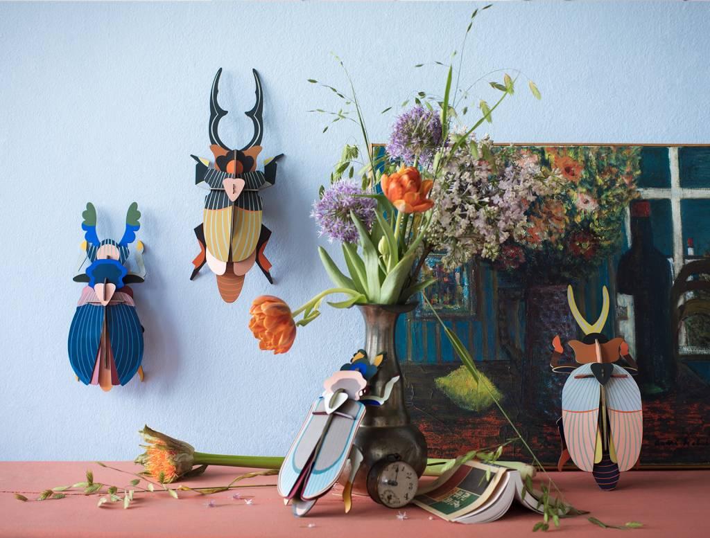 Studio Roof 3D Wanddecoratie Tiger Beetle