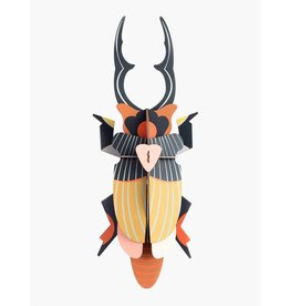 Studio Roof 3D Wall Decoration Giant Stag Beetle