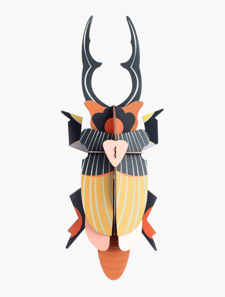 Studio Roof 3D Wanddekoration Giant Stag Beetle