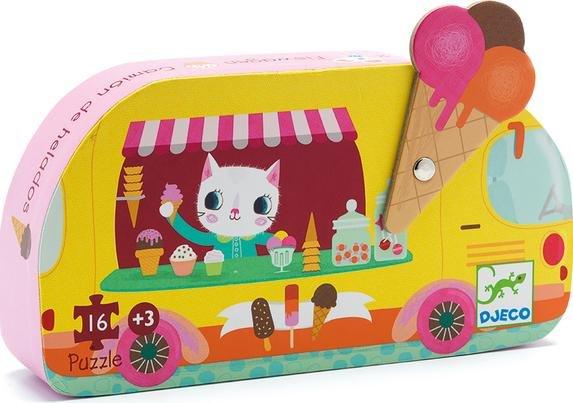 Djeco Puzzle Eiswagen