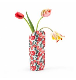 Pepe Heykoop Paper Vase Cover Tulips Small