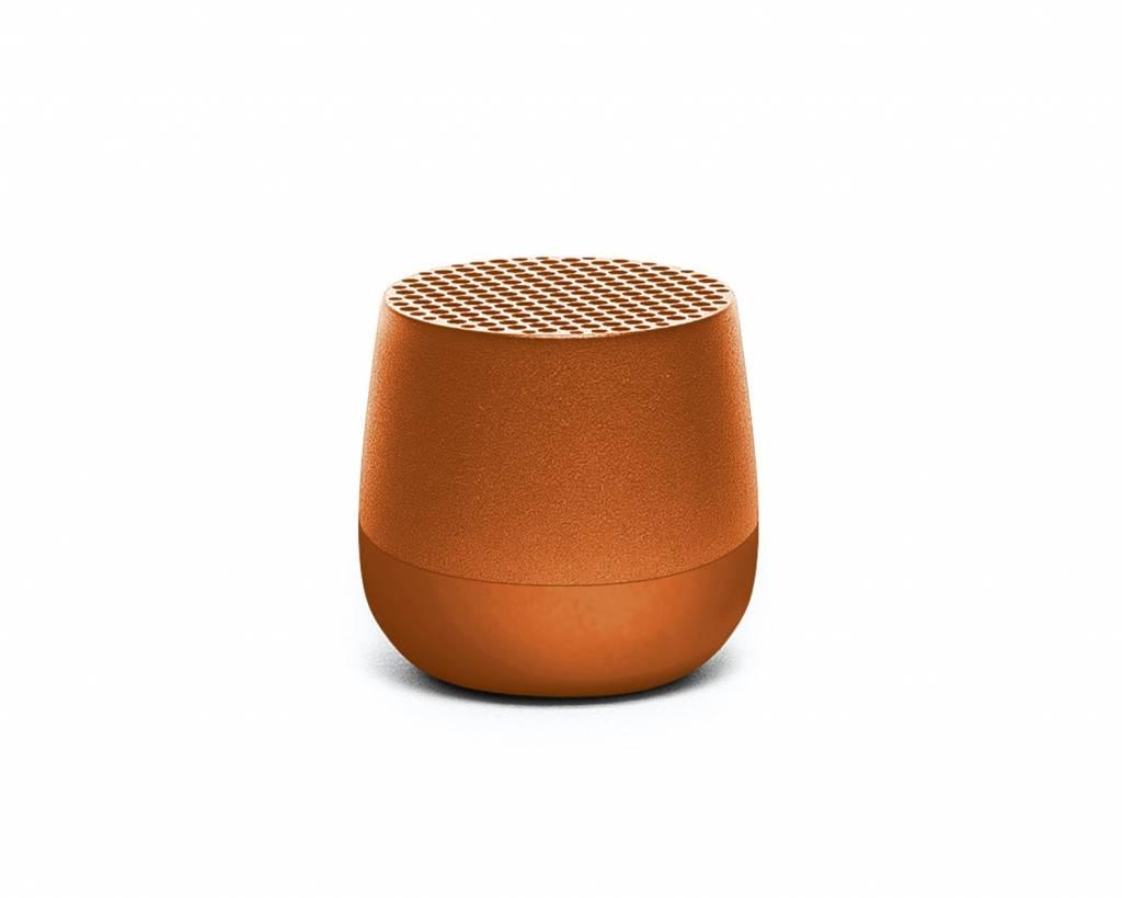 Zitzak 39 95.Lexon Mino Mini Bluetooth Speaker Orange