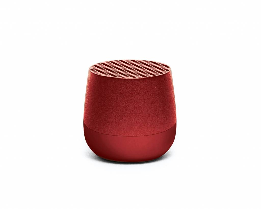 Lexon Mino Mini Bluetooth Lautsprecher Red