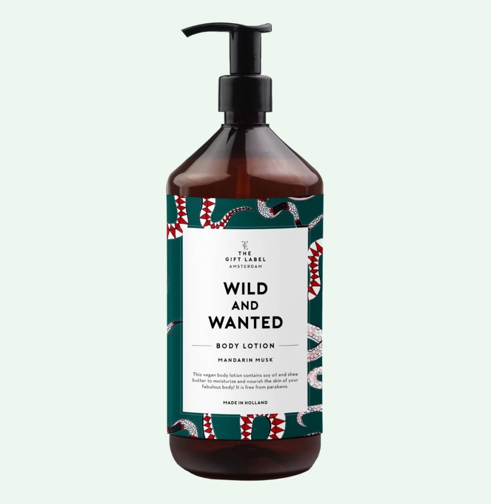 The Gift Label Body Lotion Wild and Wanted 1000ml