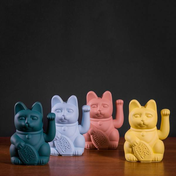 Donkey Products Lucky Cat Grau