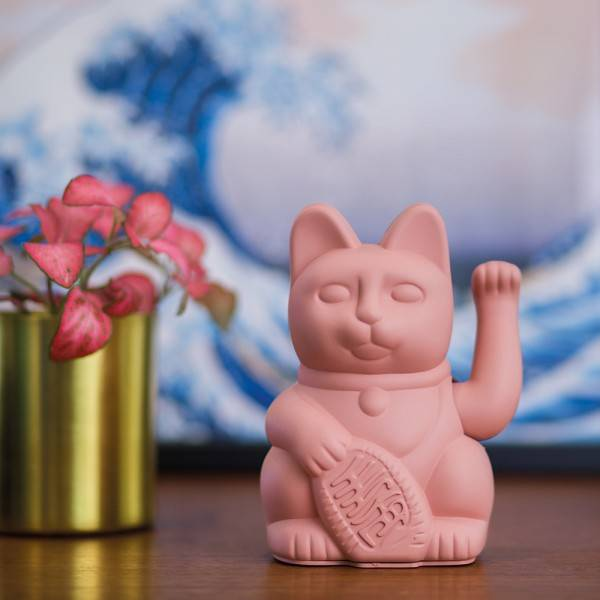 Donkey Products Lucky Cat Pink
