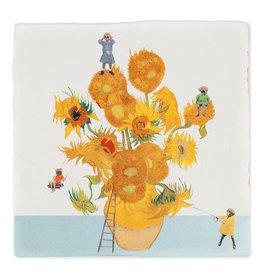 Storytiles  Decorative Tile  The Sunflower Expedition Medium